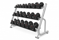 3-tier Studio Dumbbell Rack w/ Saddles MG-A41