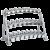 3 Tier Beauty Bell Rack CF-3462-3